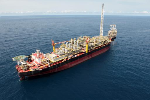 Oil from Ghana's new fields has flowed to The Prof John Evans Atta Mills vessel