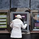Both AIB and Permanent TSB say they have no plans to charge for deposits at this point. Photo: Aidan Crawley/Bloomberg