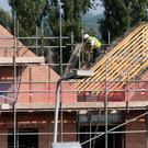 The Small Firms Association wants lower VAT for house-building. Photo: PA