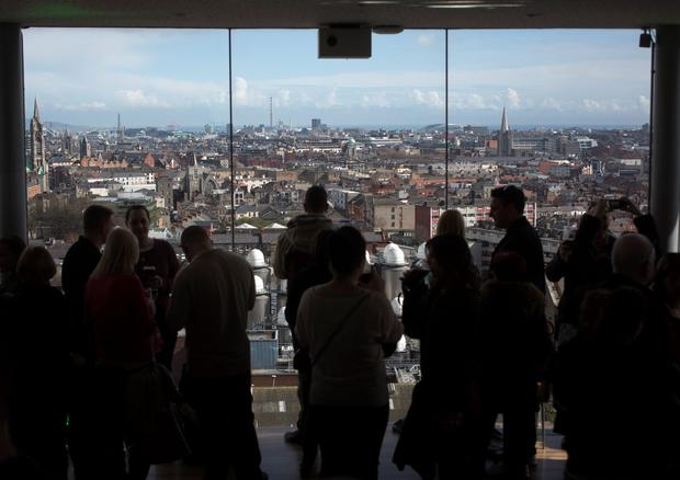 New Dublin City Council proposals would cut maximum height of low-rise housing units from 28m to 24. Photo: Bloomberg