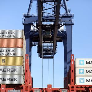 Sterling boost for UK exports. Photo: Bloomberg