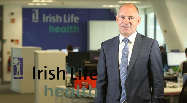 Jim Dowdall, managing director, Irish Life Health, pictured at the announcement of Irish Life entering the Irish market as a new health insurer for consumers