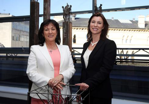 Chief executive Anne Heraty, pictured with Cpl Northern Ireland ceo Áine Brolly, said investments of past months have paid off