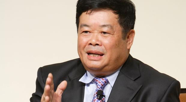 Cho Takwong, chairman and chief executive of Fuyao Glass. Photo: Bloomberg