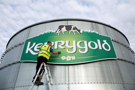 Kerrygold's new production site, pictured, will initially employ 65 people and has been built with the capacity to produce up to 50,000 tonnes of butter a year.