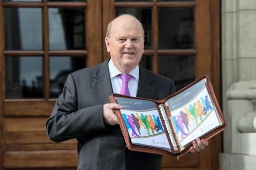 Michael Noonan presents Budget 2015. This year's version is back to that 'dratted fiscal space'