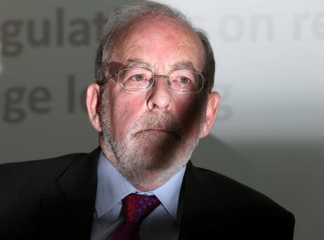 Former Central Bank governor Patrick Honohan. Photo: Damien Eagers