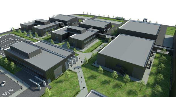 An artist's impression of the new GE Healthcare campus in Cork