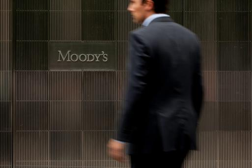 Moody's rating is good news in particular for the big two banks