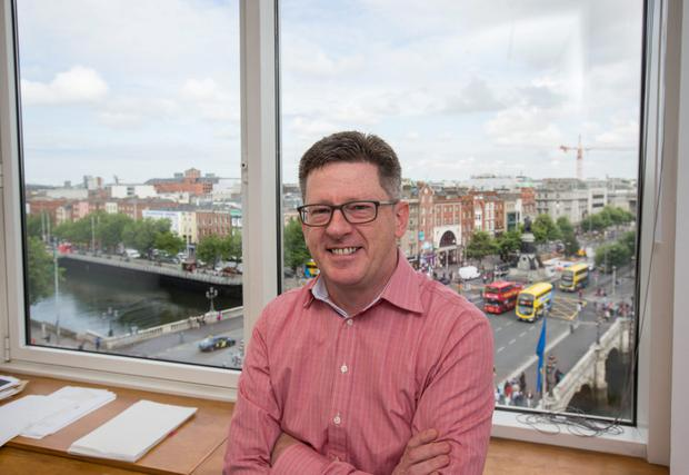 Investor Brian Caulfield argues that 'the volume of startups in Ireland is small relative to the US'