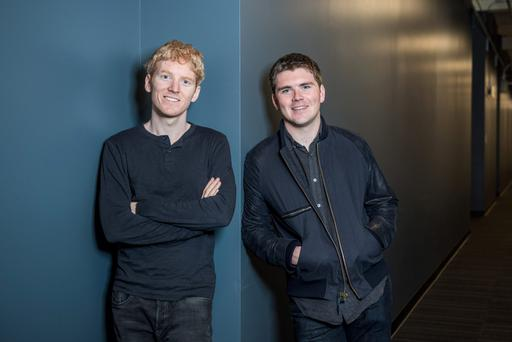 Limerick-born brothers Patrick and John Collison of Stripe move into Asia through the financial hub of Singapore