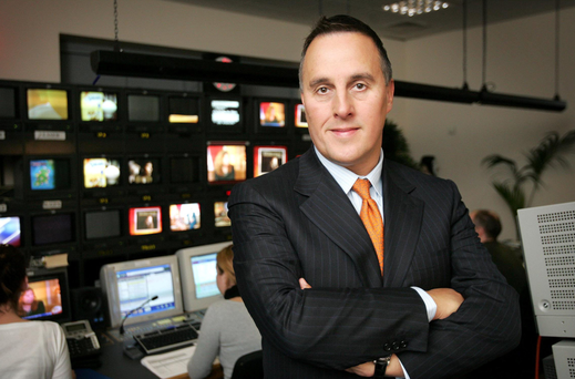 David McRedmond, former ceo of TV3