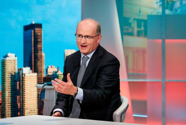 Philip Lane, Governor of the Central Bank, tells a Bloomberg Television interviewer in New York that companies might relocate to Ireland 'depending on how the [Brexit] negotiations go'