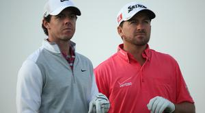 Rory McIlroy and Graeme McDowell were investors
