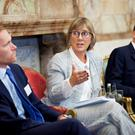 Jeremy Browne, special representative for the City to the EU; Julie Sinnamon, ceo, Enterprise Ireland; Sean Ryan, partner and chair of Eversheds' Brexit group, in Dublin. Photo: Paul Sherwood