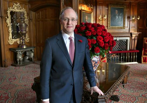 Niall Rochford, general manager at Ashford Castle, is expecting record revenues and room rates in the current year