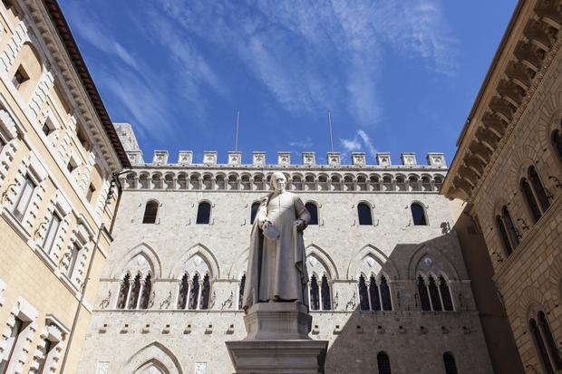 Headquarters of the Banca Monte dei Paschi di Siena