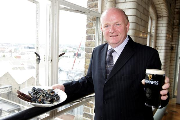 Paul Carty, managing director of the Guinness Storehouse, believes there would be interest in a 'Guinness-themed hotel on the site' in the capital