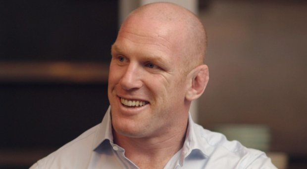 Rugby legend Paul O'Connell