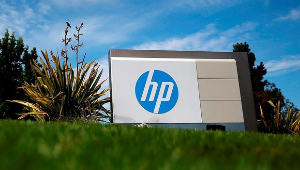 There may be job losses at the HP plant in Leixlip, Co Kildare Photo: Justin Sullivan/Getty Images