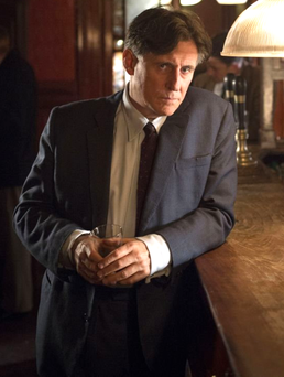 Nation in denial: Gabriel Byrne, starring as the alcoholic pathologist in Quirke, the TV series of the books written by John Banville under the nom de plume Benjamin Black Photo: Steffan Hill