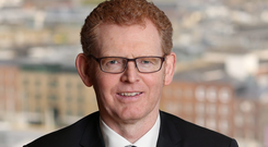 The Central Bank's director of policy and risk, Gerry Cross
