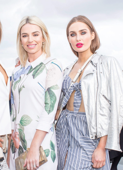 Models and bloggers Pippa O'Connor and Roz Purcell have boosted Andrea Roche's agency