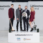 At the launch in Croke Park of the Littlewoods Ireland deal with the GAA were (from left) Waterford hurler Austin Gleeson, former Kilkenny hurler Jackie Tyrrell, Littlewoods managing director Geoff Scully, and former Cork camogie star Anna Geary
