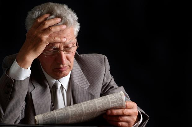Defined benefit liability crisis is a worry for future pensioners. Stock image
