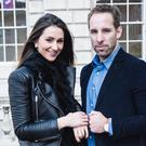 Former Ireland rugby star Tomás O'Leary and his wife Julie, who have just celebrated TOLD & CO's first year with a product launch and online deal
