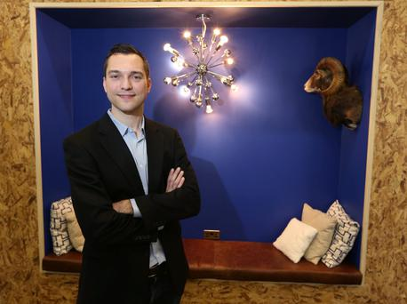 Co-founder and cto of Airbnb Nathan Blecharczyk