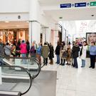 Shoppers in Liffey Valley. (Stock picture)