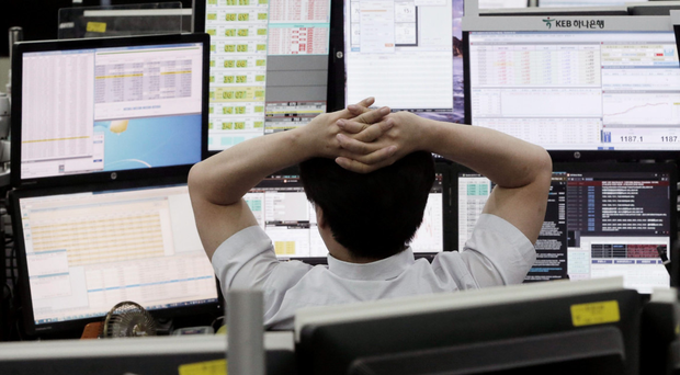 Retail stocks were some of the worst performers on the index Photo: AP