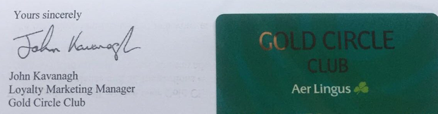 Another reader received his Gold Circle card in the post — a month before it was effectively worthless, and noted widespread confusion among loyal passengers