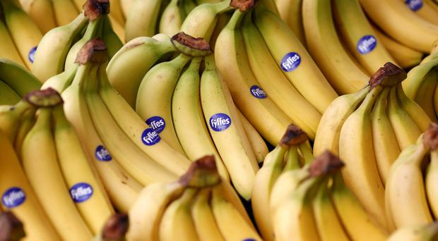 Fyffes shareholders will vote today on whether to accept a €751m takeover offer from Japanese conglomerate Sumitomo. Stock Image