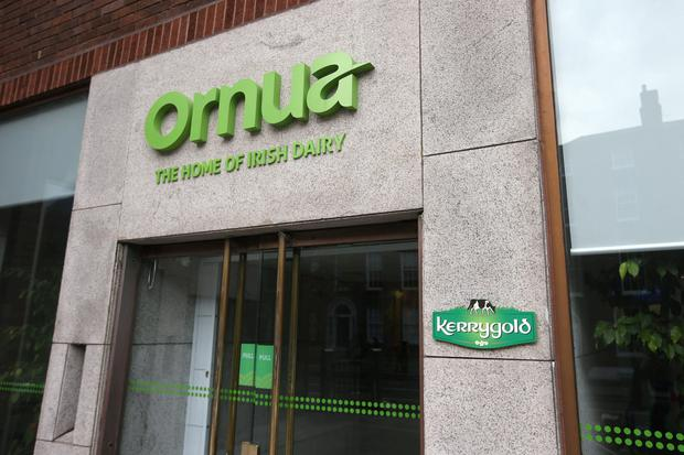 The offices of Ornua, Ireland's biggest dairy exporter