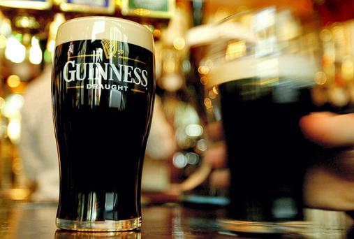 Guuinness is among Ireland's most iconic brands. File photo: Reuters