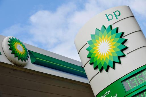 BP said oil prices remained