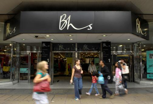 The British move is a response to last year's collapse of the BHS retail chain. File Photo: PA