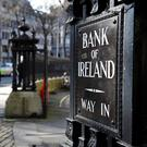 Bank of Ireland will hold off on paying a dividend for 2016. Photo: Bloomberg
