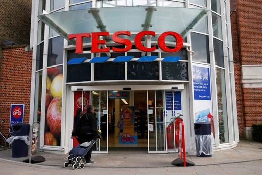 Tesco said up to 60pc of workers had turned up for work, allowing it to keep open during a campaign of industrial action at eight stores over its plan to put long-serving staff on new contracts. Stock Image