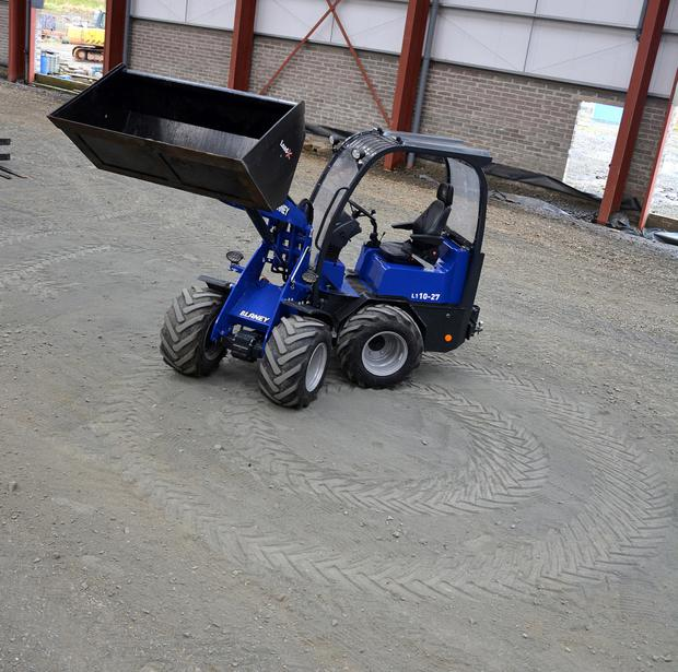 The Blaney is powered by a 40hp Yanmar engine and has a really tight turning circle of 2.05m