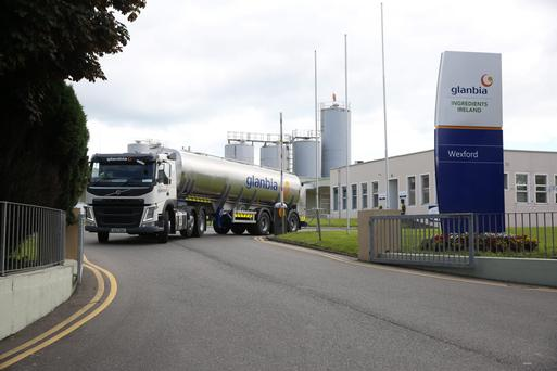 Almost 15,000 Glanbia Co-op farmers will split a €105m windfall if the deal goes ahead, with active dairy farmers set for an average payout of close to €11,000. Photo: Finbarr O'Rourke