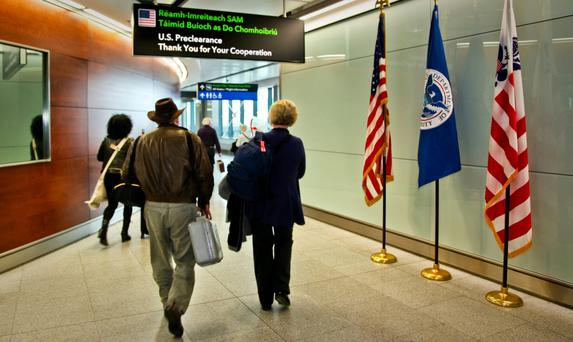 At the end of January, it emerged that one person has been refused entry to the US at Dublin Airport as part of the travel ban (Stock picture)