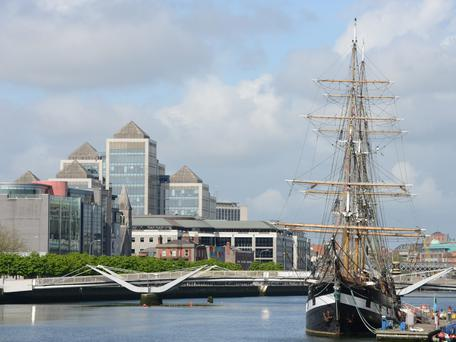 Ireland's services sector is in positive mood