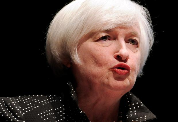 Federal Reserve Chair Janet Yellen Picture: AP
