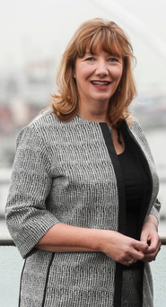 Chamber's chief executive Mary Rose Burke, who oversaw the rebrand. Photo: Conor McCabe