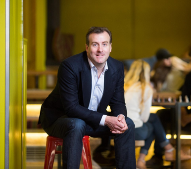 Hostelworld chief executive Feargal Mooney maintains it has been liberating to be in charge of a public company after working under private equity ownership