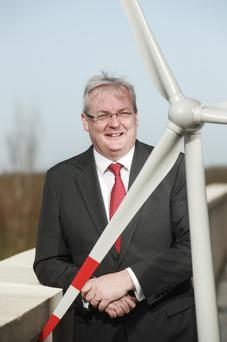 Dr Gary Healy who joined the IWEA from Vodafone