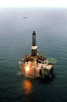 Oil announcement boosts shares. Photo credit: Providence Resources/PA Wire